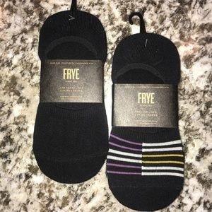 FRYe women's 5/10 6 pairs of sneaker liners